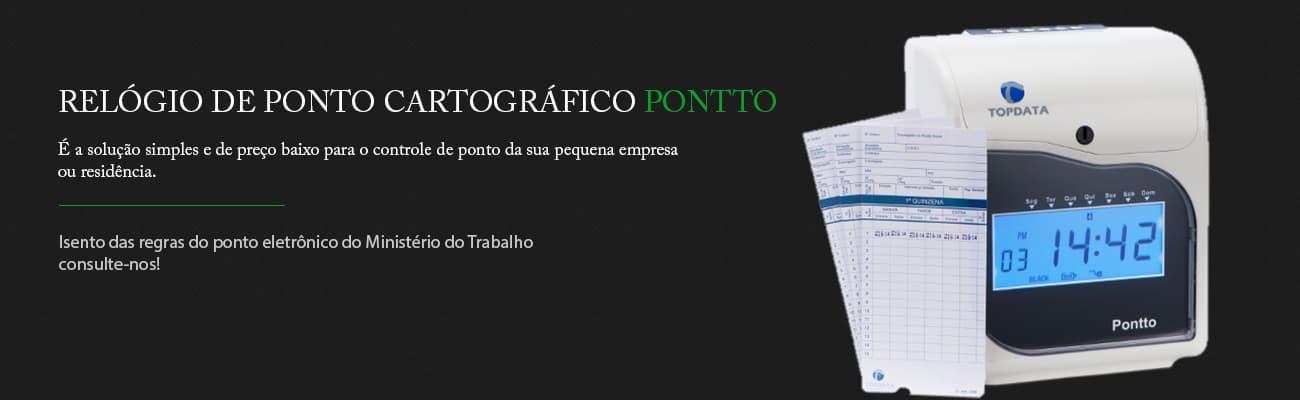 Relógio de ponto cartográfico PONTTO