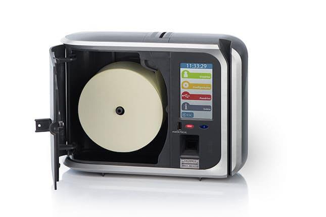 Marcas de controle de ponto biométrico que comercializamos
