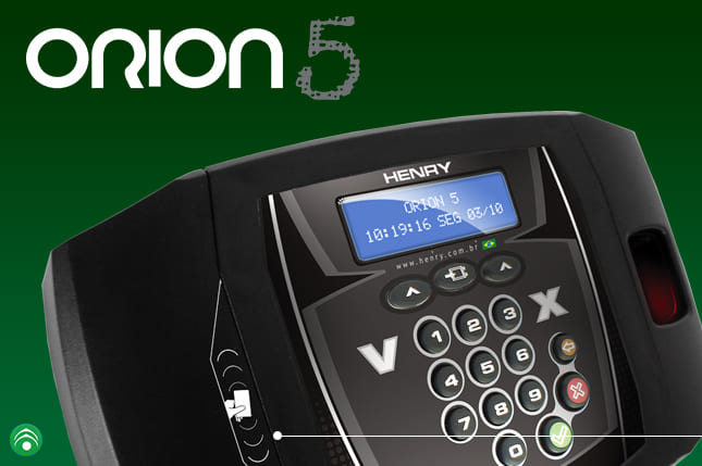 Controle de acesso orion 5