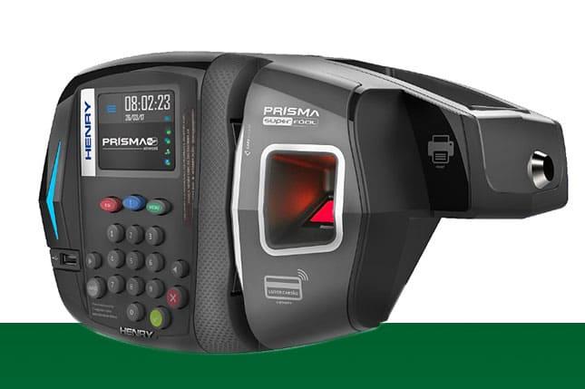 Relógio de ponto biométrico Prisma SF Advanced Henry
